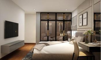 Công trình thi công lắp đặt tủ áo Căn Hộ 6035 Monarchy Đà Nẵng