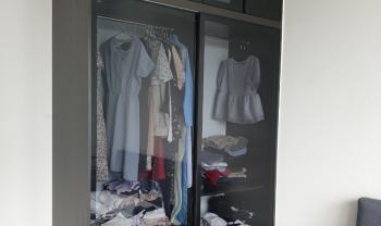 Công trình thi công lắp đặt tủ áo nhà chị Trâm Celadon Tân Phú - HCM