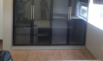 Gia công lắp đặt cánh kính tại căn hộ 14.01 Richmon City
