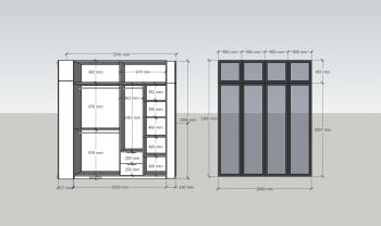 Lên ý tưởng Thiết kế tủ cánh kính, tủ bếp cánh kính, phòng thay quần áo, tủ trang trí....