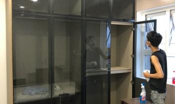 Thi công lắp tủ tại căn hộ 14.06 Rimom City